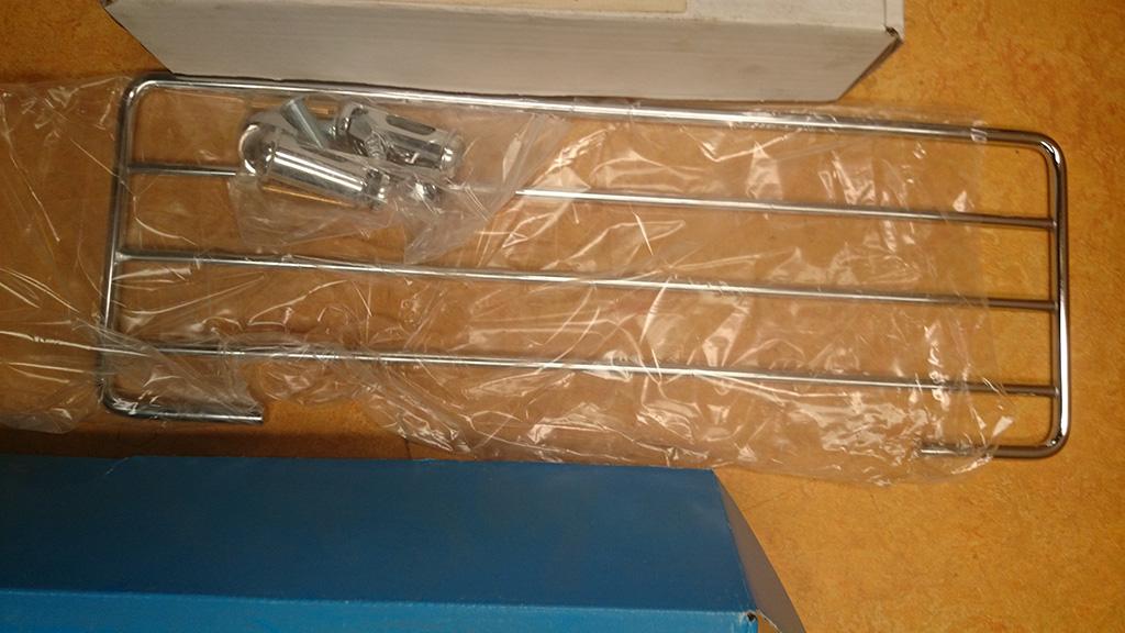 handdoekrek chroom
